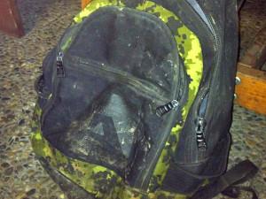 Nalezený batoh
