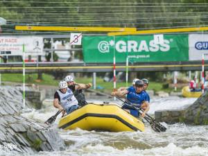 Rafting v Českém Vrbném
