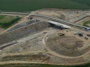 Výstavba dálnice D3 mezi Táborem a Veselím nad Lužnicí