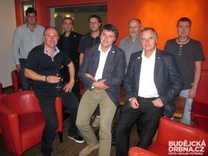 Budějcké ANO 2011 vyhraje komunální volby. Svůj štáb mělo v Lobby baru