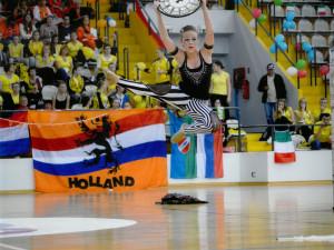 Veronika Kadlecová na mistrovství Evropy v Chorvatsku