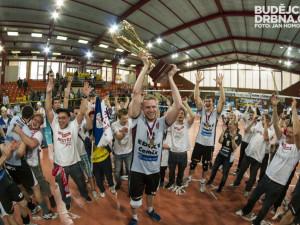 Volejbalisté Jihostroje slaví osmý mistrovský titul