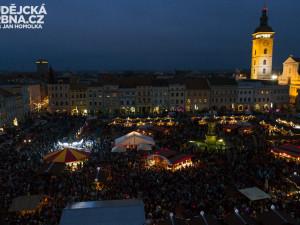 Budějovický advent lákal na náměstí Přemysla Otakara II. tisíce lidí