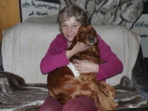 Iva Volková ze spolku Rafael