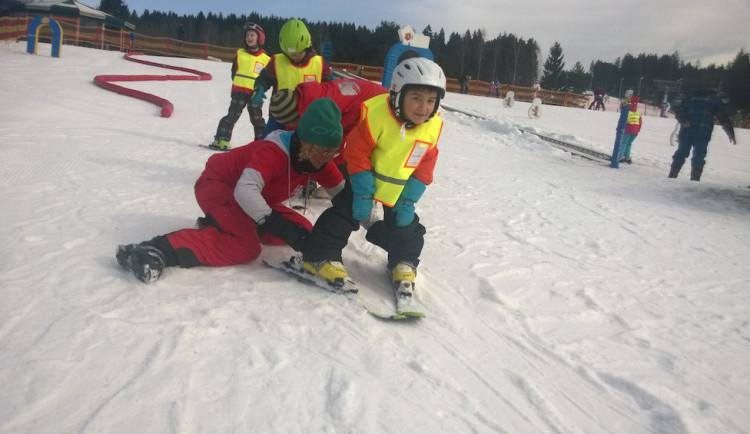 Lipno si pro milovníky snowboardu připravilo den plný závodů