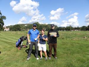 Golfistům přálo skvělé počasí