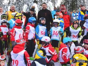 Zahájení Jižní Čechy olympijské na Lipně