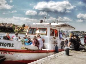 Vyhlídková plavba na zahájení plavební sezony 2015 v Týně nad Vltavou
