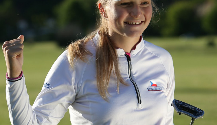Golfistka Vítů vyhrála mistrovství kadetek. V srpnu ji čeká těžší duel