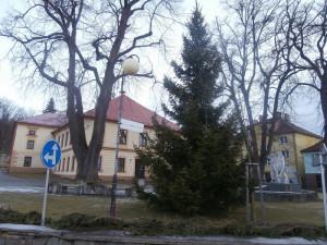 Symbol Vánoc v Horní Plané.