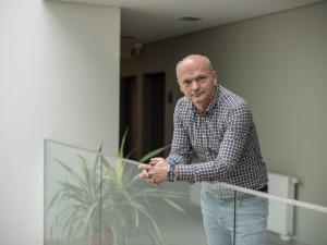 Ředitel Jihočeského vědeckotechnického parku vČeských Budějovicích František Mlčák.