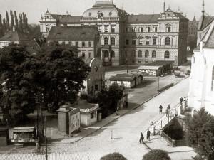 Část dnešního Senovážného náměstí ve 30. letech 20. století.