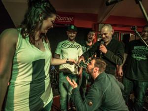 Budějcká kapela The Greens pokřtila v  Highway 61Jazz & Blues Clubu svou první desku s názvem Prostor.
