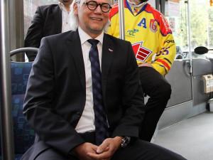 Jeden ze strůjců znovuzrození hokejového Motoru, bývalý útočník a dnes generální manažer budějckého klubu Stanislav Bednařík.