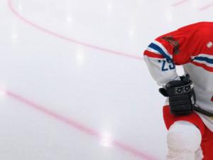 Václav Král v národním dresu v utkání proti Tatarstánu. (Foto: Patrik Krejčí)