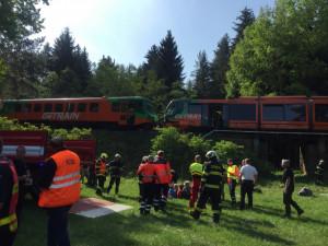 Čtvrteční nehoda dvou vlaků.