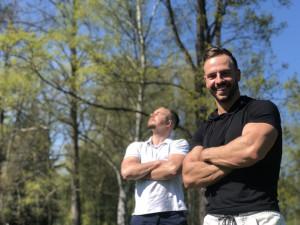 Přemek Mužík a Lukáš Zetek pracují jako osobní trenéři.