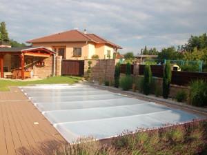 Celoroční bezpečnostní bazénová plachta SOLAR
