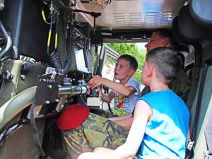 Dětský den s Armádou České republiky se uskuteční v pátek 25. a v sobotu 26. května na českobudějovickém výstavišti.