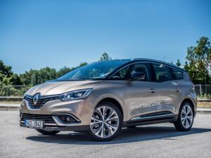 Elegantní cestování srodinou. Renault Grand Scenic zaujme svěžím designem.