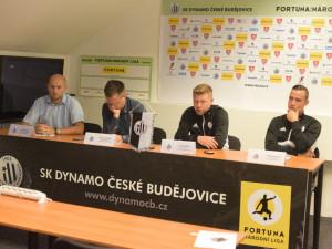 Tisková konference SK Dynamo České Budějovice před sezonou 2018/2019