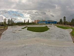 Budějcký skatepark.