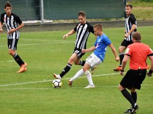 Českobudějovické Dynamo remizovalo na hřišti Táborska v devátém kole Fortuna: Národní liga 1:1.