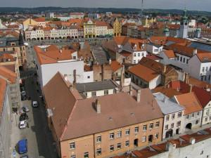 České Budějovice, ilustrační foto.