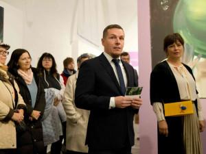 Aleš Seifert je ředitelem galerie už řes šest let. Zdroj: Alšova jihočeská galerie