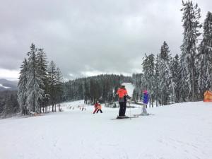 Na lipenských sjezdovkáchleží až 60 centimetrů sněhu