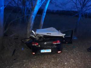 Řidička narazila do stromu, na místě zemřela