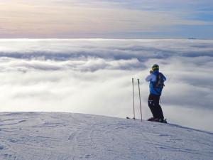 Na lyžaře čekají parádní podmínky