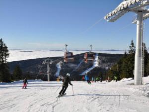 Jarní lyžování na Hochfichtu