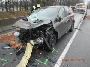 Nehoda u Hluboké