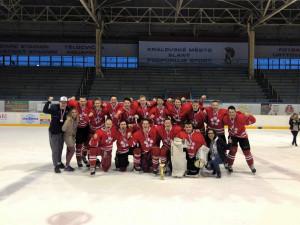 Hokejový tým Jihočeské univerzity získal na Akademickém mistrovství republiky stříbro