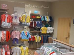 Nově otevřená prodejna s dětským oblečením Coccodrillo
