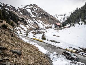 O sníh není nouze ani na přelomu dubna a května.