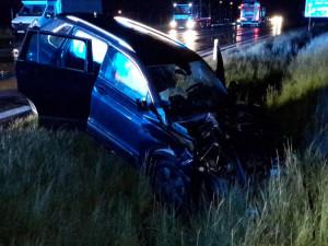 Noční tragická dopravní nehoda