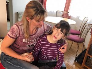 Helenka s maminkou