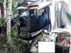 Dopravní nehoda u Lišova