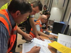 Havarijní štáb elektrárny přijímal opatření na stabilizaci situace
