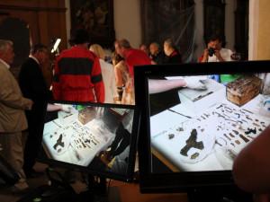 V Budějcích vyzvedli ostatky zpovědníka Přemysla Otakara II.