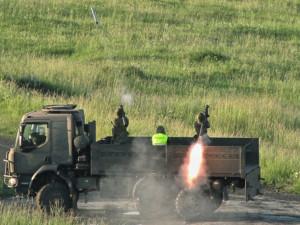 Strakoničtí vojáci vystříleli během výcviku na Doupově sedm desítek raket