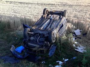 U Třeboně se stala tragická dopravní nehoda. Na místě zemřel sedmadvacetiletý řidič osobáku