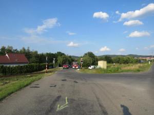 Dopravní nehoda se obešla bez těžkých zranění.