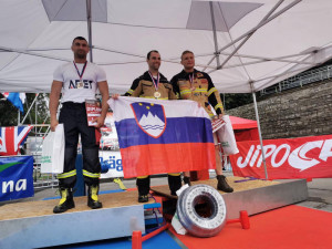 Jihočeští hasiči David Kubiš a Michal Brousil se mohou pochlubit dalším úspěchem.