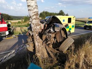 Dopravní nehoda u Českého Rudolce
