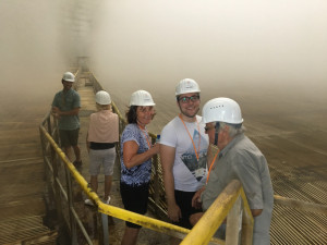 Před rokem se návštěvníci podívali přímo do vnitřku chladicí věže. Letos je čeká Sklad použitého paliva