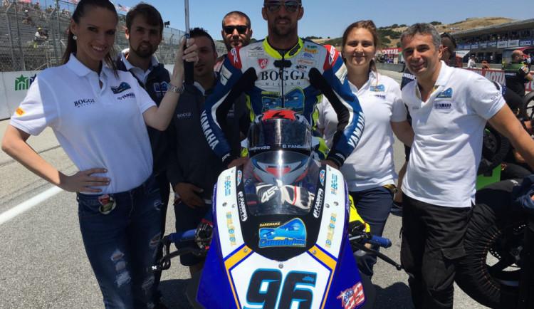 Myšlenky na návrat nemám, říká bývalý profesionální motocyklový závodník Jakub Smrž