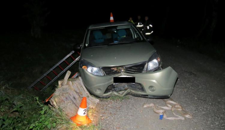 Při dopravní nehodě na Jindřichohadecku zemřel senior